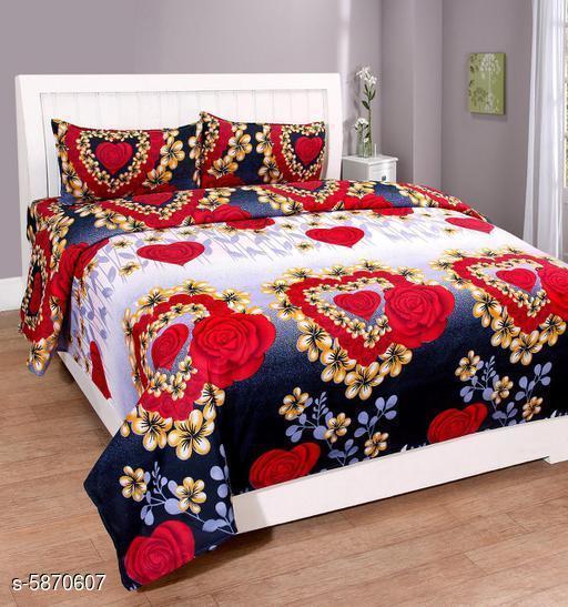 Trendy Polycotton 90 X 90 Bedsheets