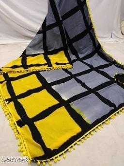 Trendy Stylish Cotton Mulmul Women's Saree