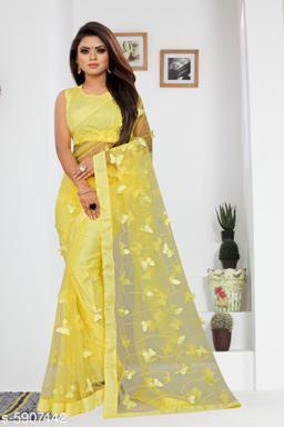 Pretty Soft Net Saree