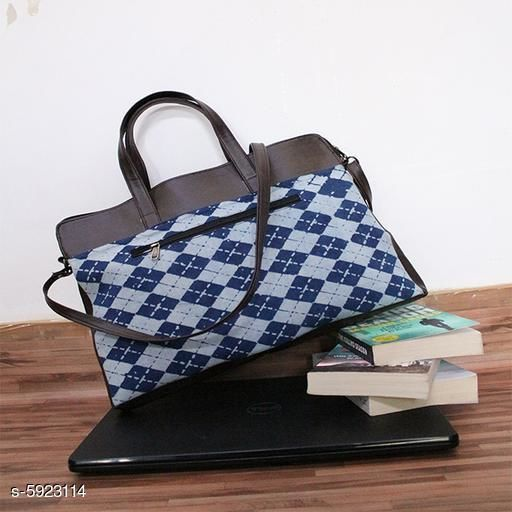Laptop Bags & Sleeves  Liftible Laptop Messenger Bag  *Lining Material* Nylon  *Main Material * Cotton  *No. Of Compartmant * 1  *Multipack* 1  *Sizes*   *Free Size (Length Size* 17 in, Width Size  *Sizes Available* Free Size *    Catalog Name: Fancy Designer  Laptop Bags & Sleeves CatalogID_895377 C73-SC1080 Code: 685-5923114-