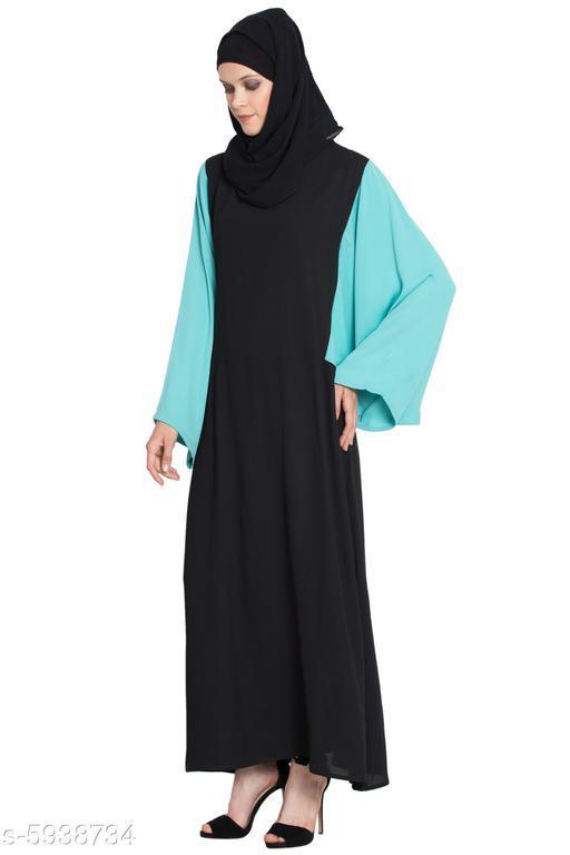 Elegant Polyester Crepe Women Hijabs