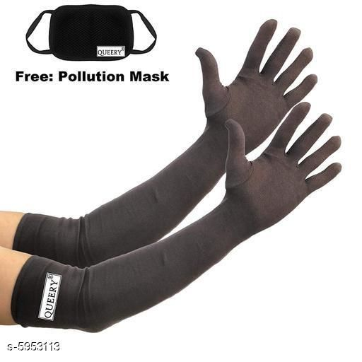 Personal care Stylish Unisex Pollution Free Arm Sleeves & Gloves   *Fabric* Cotton  *Pattern* Solid  *Multipack* 1  *Sizes* Free Size  *Sizes Available* Free Size *   Catalog Rating: ★3.9 (30)  Catalog Name: Stylish Unisex Pollution Free Arm Sleeves & Gloves  CatalogID_900585 C89-SC1514 Code: 932-5953113-