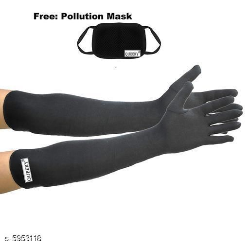 Personal care Stylish Unisex Pollution Free Arm Sleeves & Gloves   *Fabric* Cotton  *Pattern* Solid  *Multipack* 1  *Sizes* Free Size  *Sizes Available* Free Size *   Catalog Rating: ★3.9 (30)  Catalog Name: Stylish Unisex Pollution Free Arm Sleeves & Gloves  CatalogID_900585 C89-SC1514 Code: 932-5953118-