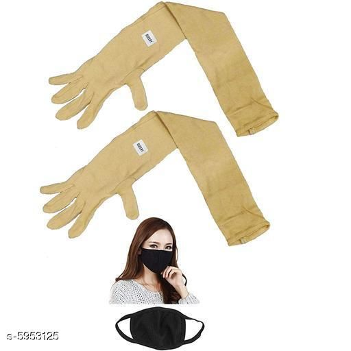 Personal care Stylish Unisex Pollution Free Arm Sleeves & Gloves   *Fabric* Cotton  *Pattern* Solid  *Multipack* 1  *Sizes* Free Size  *Sizes Available* Free Size *   Catalog Rating: ★3.9 (30)  Catalog Name: Stylish Unisex Pollution Free Arm Sleeves & Gloves  CatalogID_900585 C89-SC1514 Code: 932-5953125-