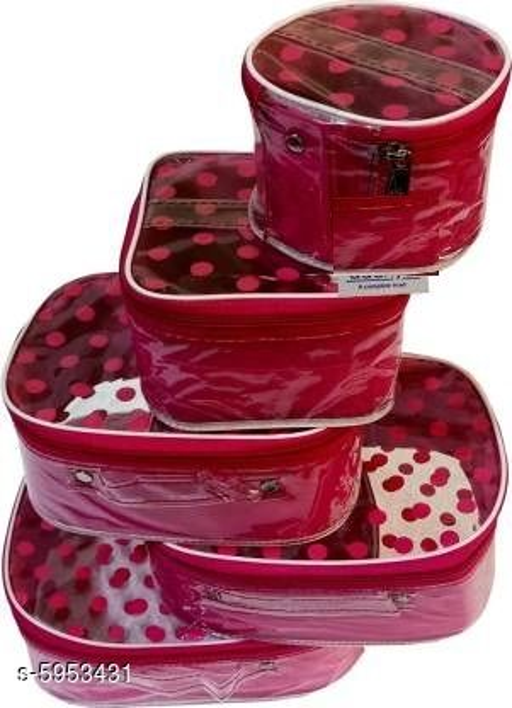 Polka Dot 5 Kit Cosmetic Storage