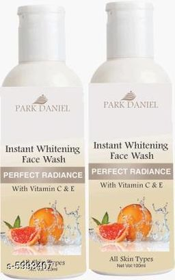 Park Daniel Instant Whitening Face Wash- For Face Wash (200 ml)