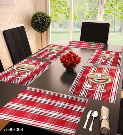 Casual Cotton Fall Table Placemats