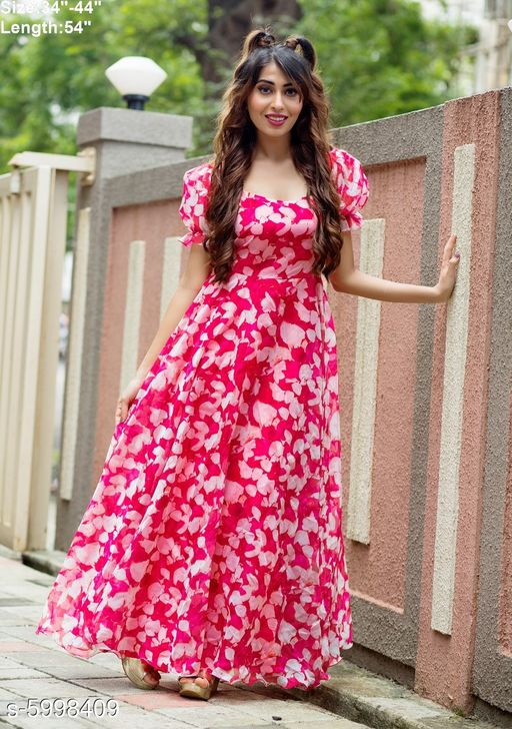 Trendy Women's Gown