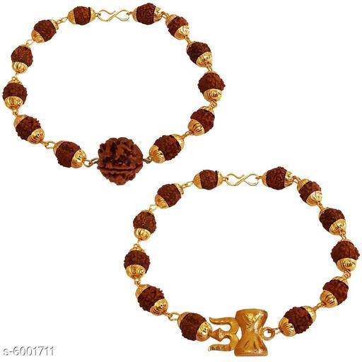 Trendy Stylish Brass Men's Bracelet