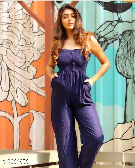 Trendy Rayon Jumpsuits