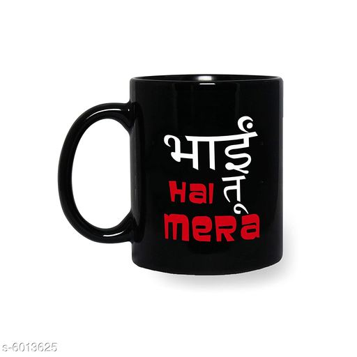 Accessories Stylish Mugs  *Material* Ceramic  *Pack* Pack of 1  *Capacity* 325 ml  *Sizes Available* Free Size *    Catalog Name: Classy Mugs CatalogID_911745 C127-SC1621 Code: 933-6013625-