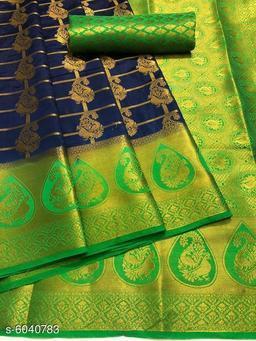 Trendy Nylon Silk Women's Saree