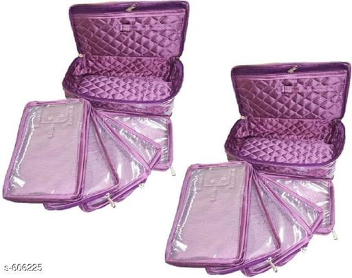5 Slot Jewellery Pouch (Pack Of 2)