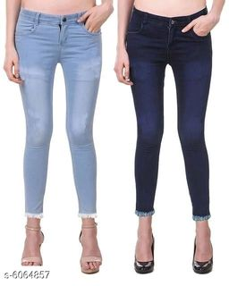 Pretty Women's Jeans (Pack Of 2)
