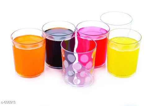 Glassware & Drinkware Small Glasses (Pack Of 6)  *Material* Plastic  *Description* It Has 6 Pieces Of Small Glasses  *Sizes Available* Free Size *   Catalog Rating: ★4 (121)  Catalog Name: Free Gift Finelure Basic Kitchen Utilities Vol 4 CatalogID_67849 C136-SC1603 Code: 472-606913-