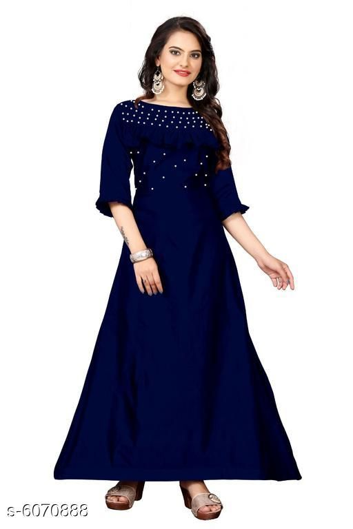 Trendy Women's gowns