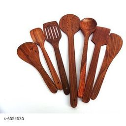 Wooden Non-Stick Serving and Cooking Spoon