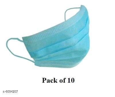 Others 3ply Mask For Anti Pollution  *Product Name* 3ply Mask For Anti Pollution  *Product Type * Mask  *Multipack* 10  *Sizes Available* Free Size *   Catalog Rating: ★3.5 (4)  Catalog Name:  3ply Mask For Anti Pollution CatalogID_926757 C84-SC1284 Code: 922-6094207-