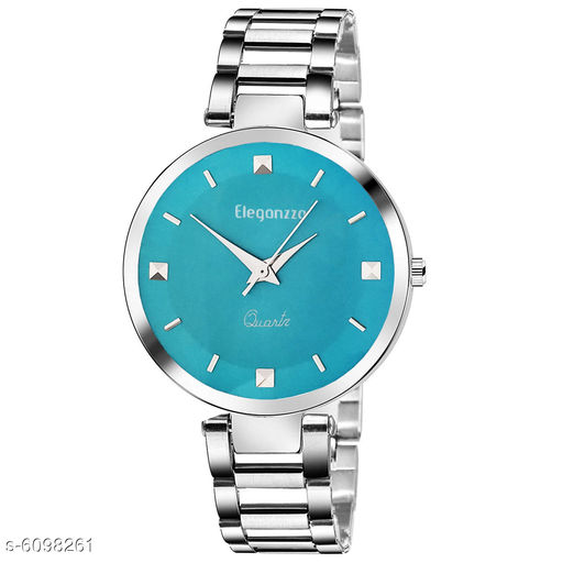 Watches  Classy Women Watches Strap Material: Stainless Steel Display Type: Analogue Size: Free Size (Dial Diameter Size: 36 mm)  Multipack: 1 Sizes Available: Free Size    Catalog Name: Classy Women Watches CatalogID_927509 C72-SC1087 Code: 243-6098261-