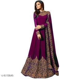 Stylish Women's Semi Stitched Suit & Dress Material