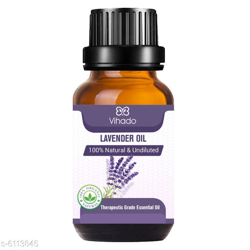 Lavender Essential Oil, 100% Natural & Pure, for Hair, Skin, Face, Relaxing Sleep & Aroma Diffuser