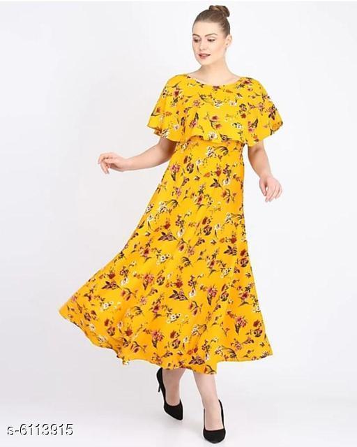 Women's Printed Silk Dress