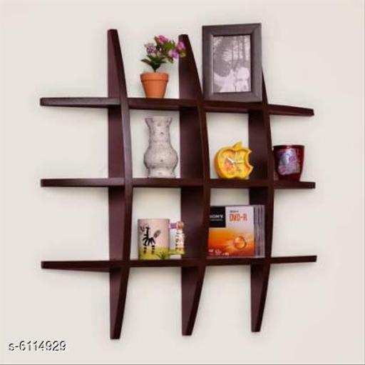 Stylish MdF Wall Shelves