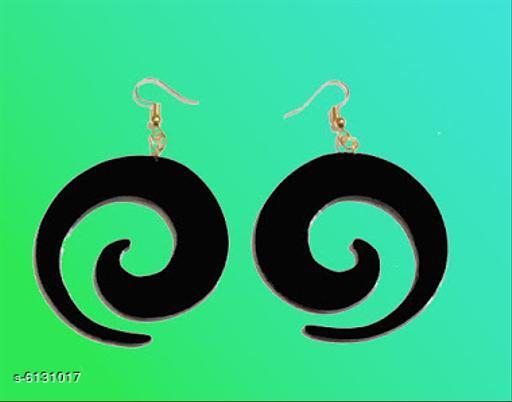 Earrings & Studs Allure Elegant Earrings  *Base Metal* Plastic  *Sizes Available* Free Size *    Catalog Name: Diva Fancy Earrings CatalogID_933302 C77-SC1091 Code: 791-6131017-