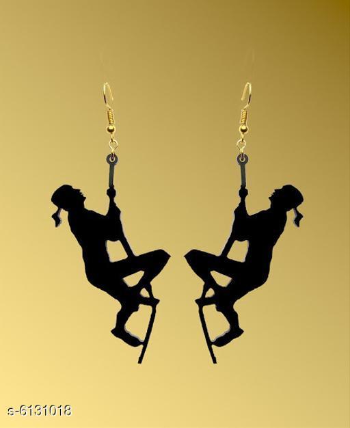 Earrings & Studs Allure Elegant Earrings  *Base Metal* Plastic  *Sizes Available* Free Size *    Catalog Name: Diva Fancy Earrings CatalogID_933302 C77-SC1091 Code: 791-6131018-