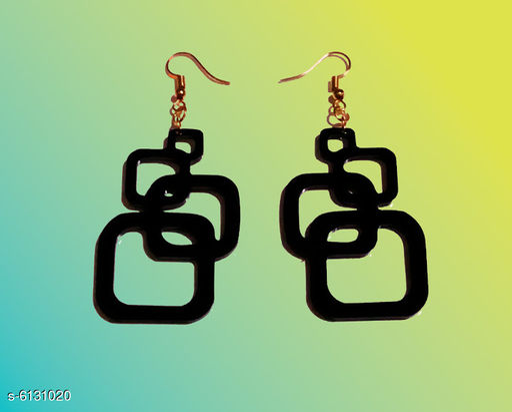 Earrings & Studs Allure Elegant Earrings  *Base Metal* Plastic  *Sizes Available* Free Size *    Catalog Name: Diva Fancy Earrings CatalogID_933302 C77-SC1091 Code: 791-6131020-