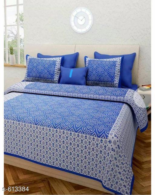 Comfy Cotton Double Bedsheet