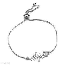 Nilu's Collection Alloy Tennis Bracelet ()
