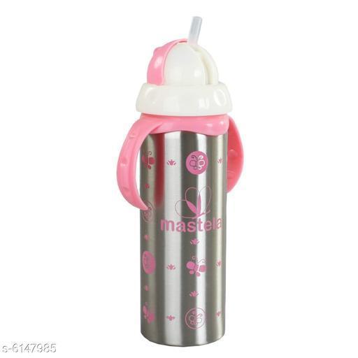 Bottles & Lunchboxes Kid's Steel Feeding Bottles  *Product Type * Feeding Bottle   *Fabric* Steel   *Bottle Capacity* 240 ml   *Description* It Has 1 Piece Of Feeding Bottle  *Sizes Available* Free Size *   Catalog Rating: ★4 (21)  Catalog Name: Kid's Steel Feeding Bottles CatalogID_936056 C63-SC1196 Code: 775-6147985-
