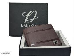 Stylish Men's Maroon Leather Wallet