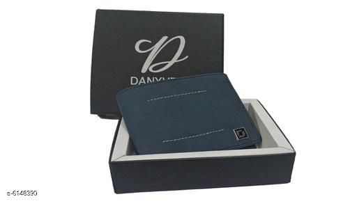 Stylish Men's Black Leather Wallet