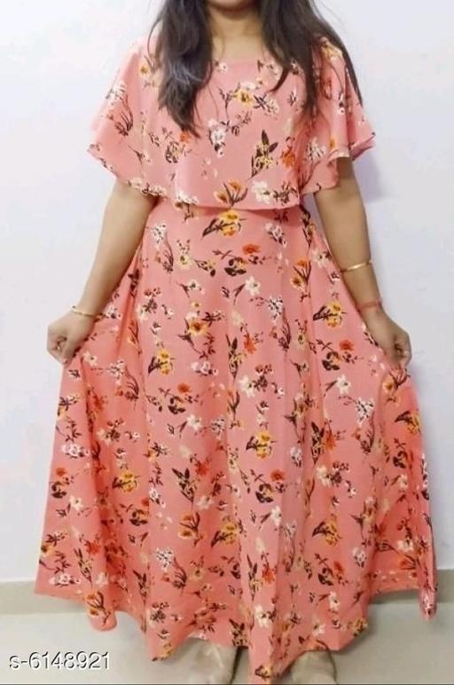 Drishya Pretty Women Gown