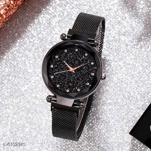 New Attractive  Women Magnetic Watches