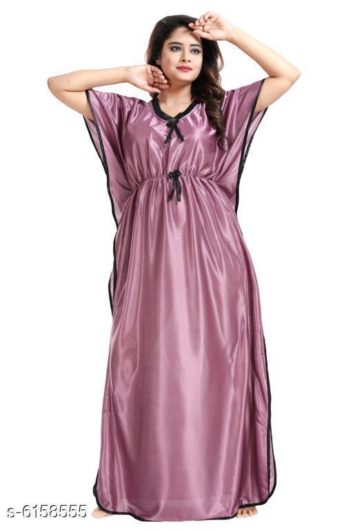 Women Satin Nightdress