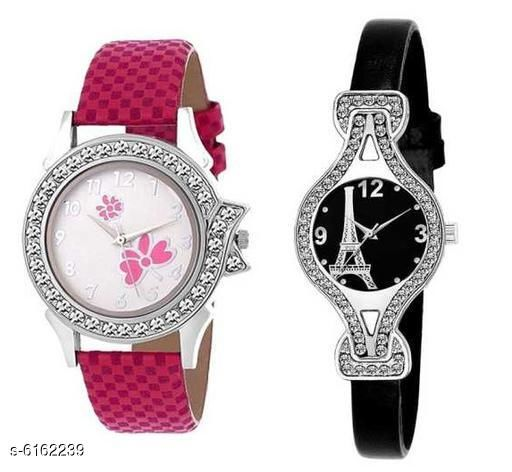 Sana Attractive Women's Watches Combo