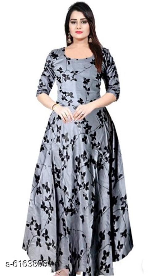 Urbane Latest Women Gown