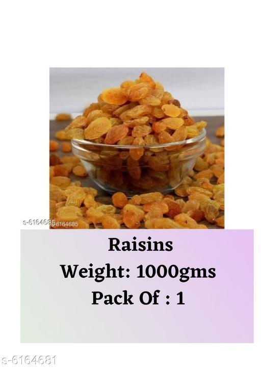 Dry Fruits Raisins  (1kg) Raisins  *Sizes Available* Free Size *   Catalog Rating: ★3.8 (23)  Catalog Name: Raisins CatalogID_940049 C89-SC1738 Code: 435-6164681-