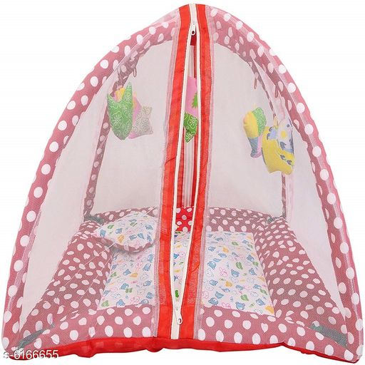 Bedding Set Baby bed protection mosquito with Net  *Bedsheet Fabric* Cotton  *Print or Pattern Type* Printed  *Multipack* 1  *Sizes*  length-32 in width-22 in height-4 in  *Sizes Available* Free Size *   Catalog Rating: ★3.9 (115)  Catalog Name: Voguish Classy Baby Bedding Set CatalogID_940396 C53-SC1103 Code: 226-6166655-