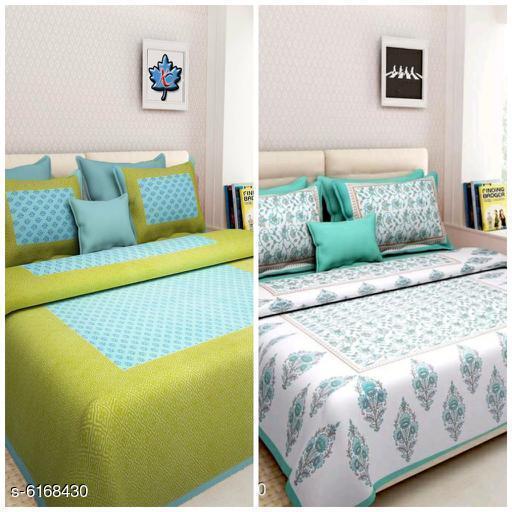 Ravishing Versatile 100 X 90 Cotton Double Bedsheet