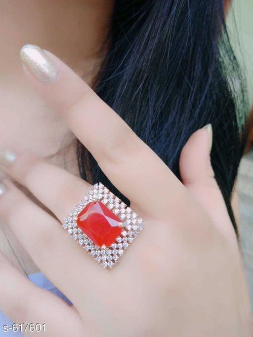 Beautiful American Diamond Finger Ring
