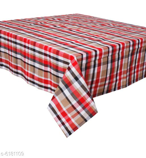Oasis Home Collection 8 Seater Cotton YD Table Cloth - Pack of 1 Pc