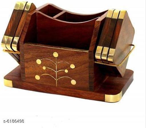 Fancy Wooden Costers