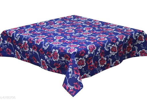 Table Cover Oasis Home Collection 2 Seater Cotton Printed Table Cloth  *Material* Cotton  *Pack* Pack of 1  *Pattern* Printed  *Length* 40 Inch  *Breadth* 40 Inch  *Sizes Available* Free Size *    Catalog Name: Oasis Home Collection 2 Seater Cotton Printed Table Cloth CatalogID_944472 C129-SC1637 Code: 662-6186796-
