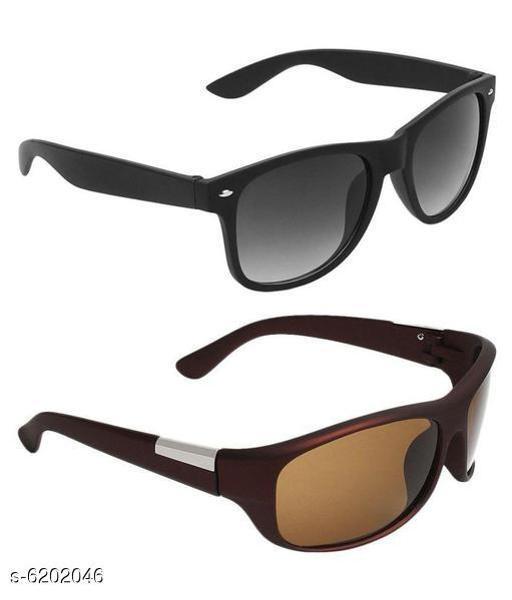 Fancy New Look Designer Unisex Sunglasses Combo