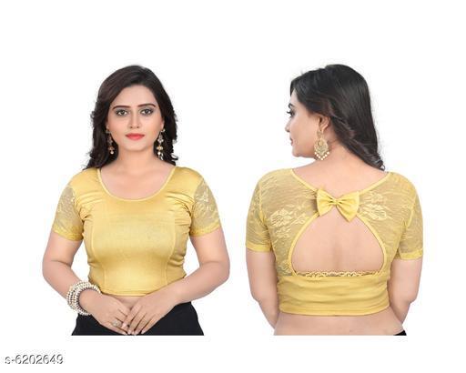 Trendy Simmer Lycra Women's Blouse