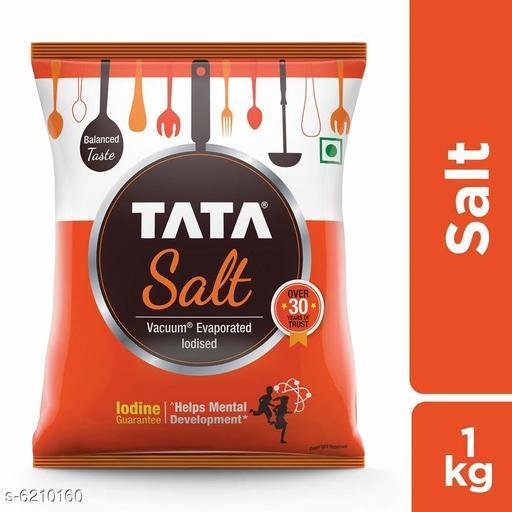 Spices Tata Salt Tata Salt  *Sizes Available* Free Size *    Catalog Name: Tata_1 KG CatalogID_959256 C89-SC1737 Code: 501-6210160-
